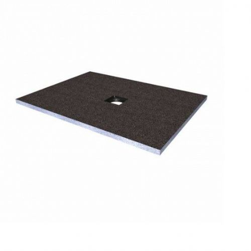 Abacus Elements Rectangular Standard Shower Tray 40mm High With Centre Drain - 1000mm x 900mm